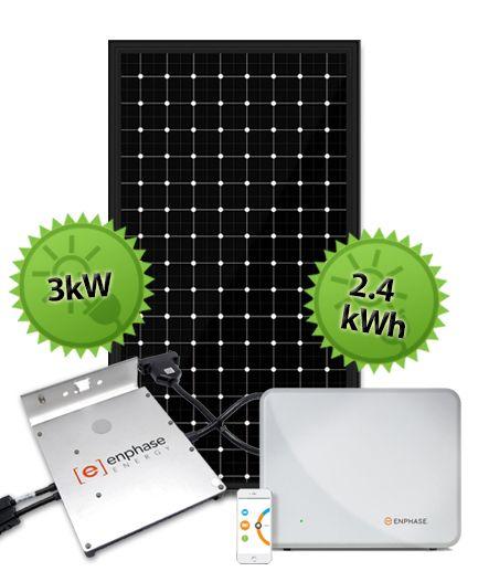 3kW Enphase Hybrid System | Enphase and Trina