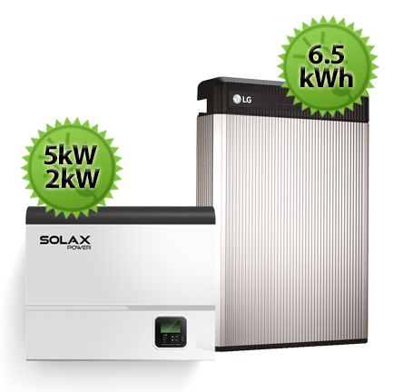 6 5kWh SolaX LG Chem Battery Upgrade