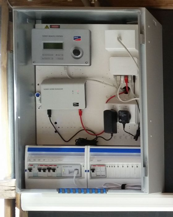 Battery System Switchboard on