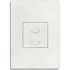Free@Home Switch 2 Button | SUCPFWB-2.0-W
