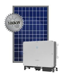 100kW Solar System | Sungrow and Trina