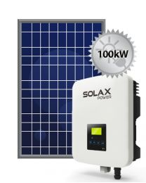100kW Solar System | SolaX and Trina