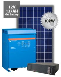 10kW Offgrid System | Victron and BYD