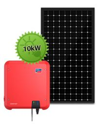 10kW Solar System | SMA and LG