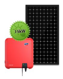 15kW Solar System | SMA and LG