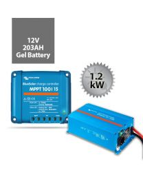 1.2kW Battery System | Victron and Century