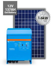 1.6kW Offgrid System | Victron and Power Plus