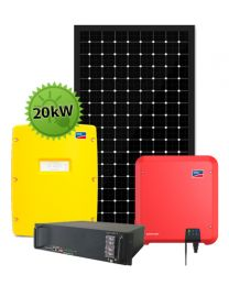 20kW Offgrid Farm System   SMA and BYD
