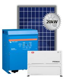 20kW Offgrid System | Victron and BYD