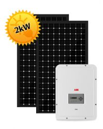 2kW Solar PV System | ABB and Trina