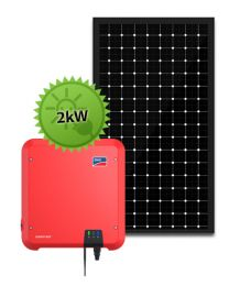 2kW Solar System | SMA and LG