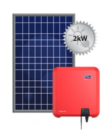 2kW Solar PV System | SMA and Trina