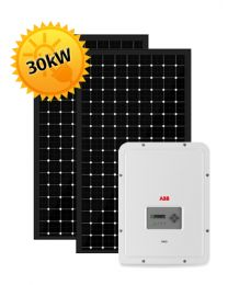 30kW Solar PV System | ABB and Trina