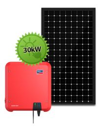 30kW Solar System | SMA and LG