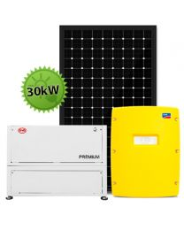 30kW Offgrid Factory System | SMA and BYD