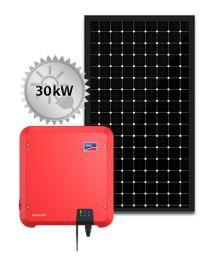 30kW Solar PV System | SMA and Trina