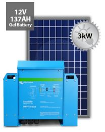 3kW Offgrid System | Victron and Power Plus
