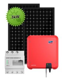 3kW Optimizer System | SMA and Tigo Opal