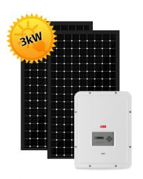 3kW Solar PV System | ABB and Trina
