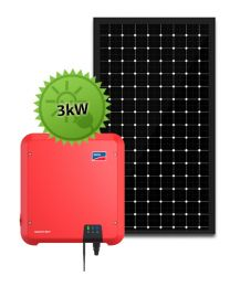 3.5kW Solar System | SMA and LG Solar