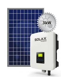 3kW Solar System | SolaX and Trina