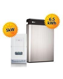 6.5kWh Redback LG Chem Battery Upgrade
