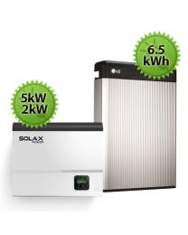 6.5kWh SolaX LG Chem Battery Upgrade