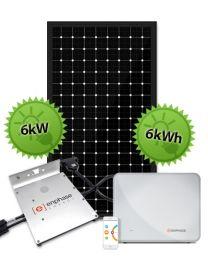 6kW Enphase Hybrid System | Enphase and Trina