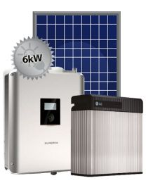 6kW Hybrid Solar | Sungrow and LG Chem