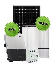 6kW Hybrid System | SMA and LG Chem