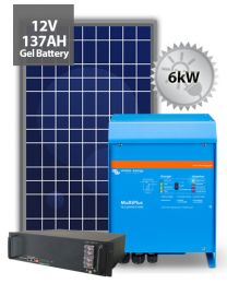 5kW Offgrid System | Victron and BYD
