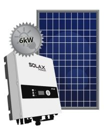 6kW Solar System | SolaX and Trina