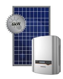 6kW Solar System | Sungrow and Trina