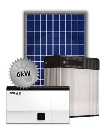 6kW Hybrid Solar | SolaX and LG Chem