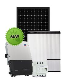 6kW Hybrid System | SMA and LG Chem