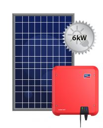 6kW Solar PV System | SMA and Trina
