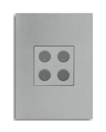 Free@Home Blind Shutter 4 Button | SBCPFWB-4.1-W
