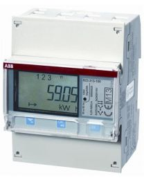 AC Energy Meter 63A 3P | Dual Pulse Output