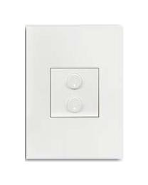 Free@Home Light Switch 10A 2 Button | SRCPFWB-2.1-W