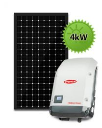 4kW Solar PV System | Fronius and LG