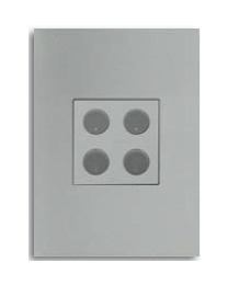 Free@Home Switch 4 Button | SUCPFWB-4.0-W