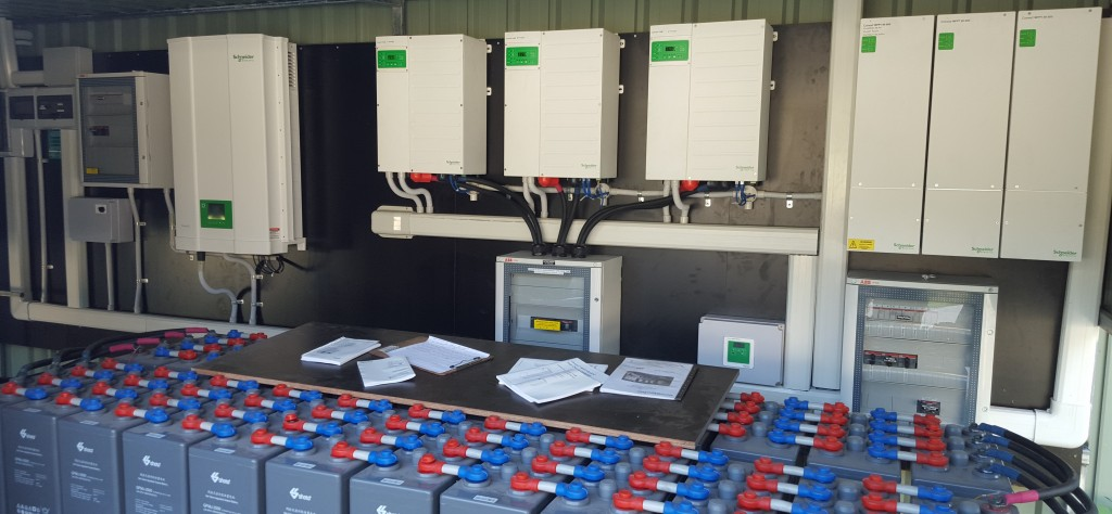 3 Phase Battery System