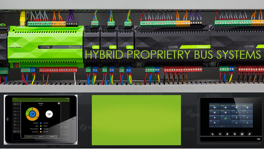 Hybrid Proprietary Bus Systems